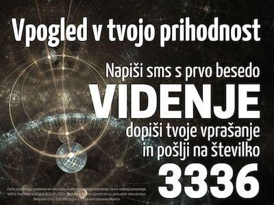 sms vedeževanje VIDENJE na 3336